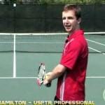Tennis Lesson: Serve Step 1 – Stance