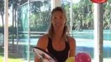 Brenda Schultz-Mc Carthy – WTA top10 – presents Le Petit Tennis Age Adapted Equipment
