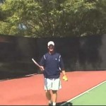 Learn to play Tennis – lesson #5: The serve – the slice serve