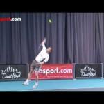 Tennis Serve- Topspin Serve Technique