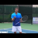 TENNIS LESSONS ONLINE   Tennis Serve And Slice Online Lessons