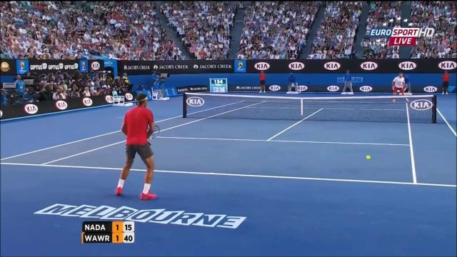 Stanislas Wawrinka Vs Rafael Nadal Australian Open 2014 HIGHLIGHTS Final FULL HD PART 1