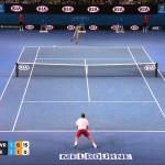 Stanislas Wawrinka Vs Novak Djokovic Australian Open 2014 HIGHLIGHTS QF FULL HD PART 1