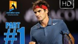 1# HD | Andy Murray vs Roger Federer | Australian Open 2014 HIGHLIGHTS QF Full HD PART 1 22.01.2014