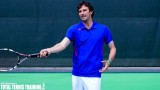 TENNIS LESSONS   Lesson On Bent Arm On Tennis Forehand