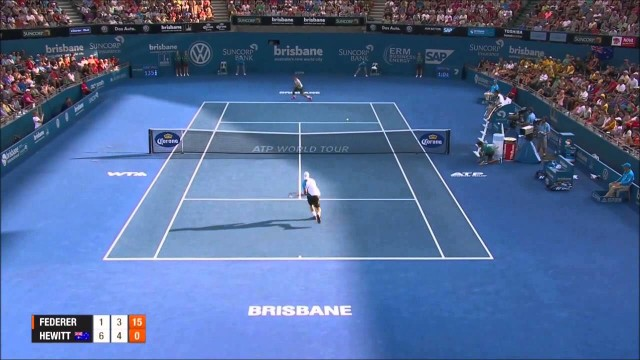 Roger Federer Vs Leyton Hewitt Brisbane 2014 HIGHLIGHTS Final HD