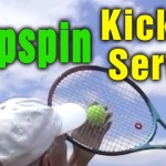 Tennis Serve – Master The Topspin (Kick) Serve