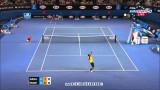 Rafael Nadal Vs Gael Monfils Australian Open 2014 HIGHLIGHTS R3 FULL HD