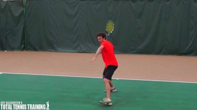 ADVANCED TENNIS TIPS | Advanced Tennis Footwork Tip On The Forehand Approach Shot