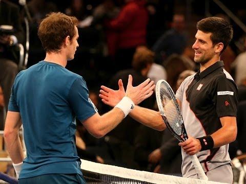 (HQ) Novak Djokovic vs Andy Murray BNP Paribas Showdown 2014 – HIGHLIGHTS