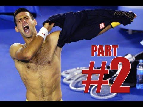 2# HD | Novak Djokovic Vs Stanislas Wawrinka | Australian Open 2014 HIGHLIGHTS QF FULL HD PART 2