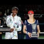 2014 Dubai Duty Free Tennis Championships Final WTA Highlights