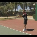 Advanced Tennis Serves : Tossing a Tennis Ball for a Slice Serve