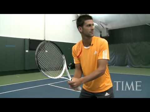 A Free Lesson With  Novak Djokovic