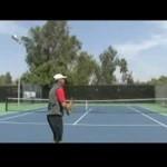 Tennis Serve & Return Tips : Tennis Continental Grip for Slice Serve