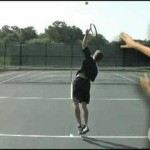 Tennis Lesson: Serve Step 7 – Swing and Pronate