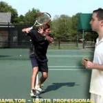 Tennis Lesson: Forehand Step 2 – Take Your Racket Back