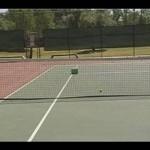 Advanced Tennis Serves : Practicing Tennis Serves at Targets