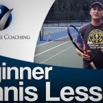 Beginner Tennis Lessons: Week 1 Part 2