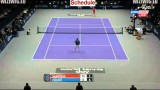 Pete Sampras vs Andre Agassi 2nd SET || World Tennis Day 3.3.2014 [HD]