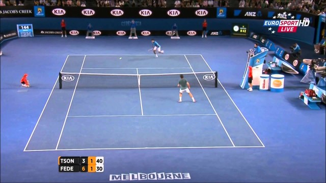 Roger Federer Vs Jo-Wilfried Tsonga Australian Open 2014 HIGHLIGHTS R4 FULL HD