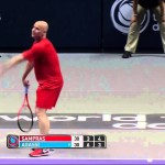 Pete Sampras vs. Andre Agassi – World Tennis Day 2014 Highlights [HD]