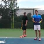 How To Serve Like A Tennis Pro   Tennis Topspin Serve Swing Path