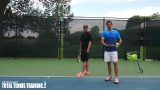 How To Serve Like A Tennis Pro | Tennis Topspin Serve Swing Path