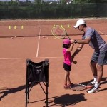 Serve Tennis Lesson (live) for Kids – how to teach tennis to little kids (promo)