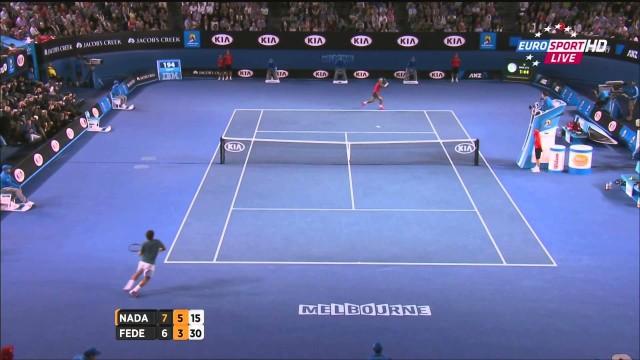 Nadal vs Federer, Australian Open 2014 (1/2 Finale), highlights HD – Semi Final – 24/01/14