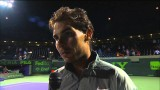 Nadal Talks About Win Over Fognini in 2014 Miami Fourth Round