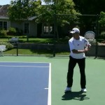 Tennis – One Handed Topspin Backhand Lesson