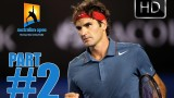2# HD | Andy Murray vs Roger Federer | Australian Open 2014 HIGHLIGHTS QF Full HD PART 2 22.01.2014