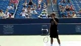 Roger Federer Second Serve in Slow Motion 210 fps HQ mp4