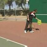 Beginner Tennis : Beginner Tennis: Serving