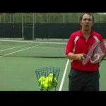 How to Play Tennis : How to Hit a Tennis Ball with Topspin
