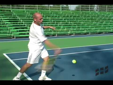 Tennis Lesson – The Modern Forehand