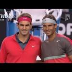 {HD} Rafael Nadal vs Roger Federer Full Highlights SF Australian Open 2014