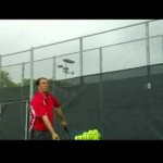 How to Play Tennis : How to Hit a Slice Serve in Tennis