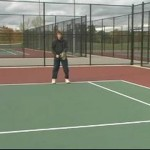 Tennis Lessons for Beginning Players : How to Return a Tennis Serve
