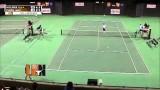 Men's Tennis highlights: UT Arlington / Texas A&M Corpus Christi [Feb. 23, 2014]