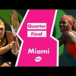 Serena Williams vs Angelique Kerber Miami 2014 Highlights