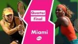 Serena Williams vs Angelique Kerber Miami 2014 Highlights