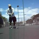Tennis Lesson:  Topspin Forehand Weapon Construction