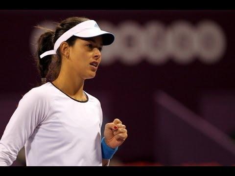 2014 Qatar Total Open Day 2 WTA Highlights