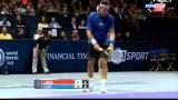 Tennis- Pat Cash vs Ivan Lendl  World Tennis Day London 2014 HIGHLIGHTS
