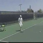 John Reed Tennis Serving Lesson