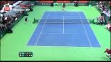 Roger Federer (SUI) Vs Ilija Bozoljac (SRB) DAVIS CUP 2014 (HD)