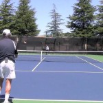Tennis Slice Approach Shots Lesson – Yours Can Look Like These