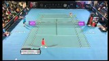 Garbiñe Muguruza v Kirsten Flipkens Hobart International Tennis 2014 – Match Highlights